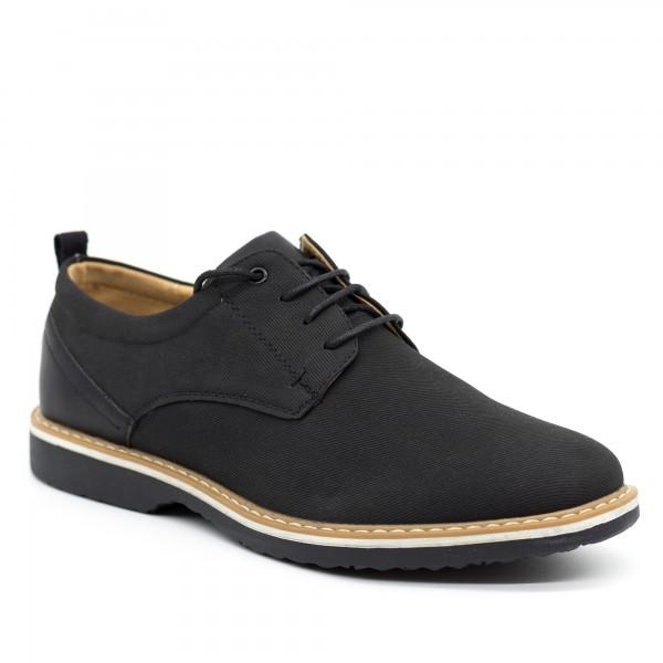 Pantofi Casual Barbati L006 Black Cabin
