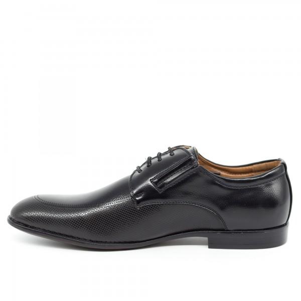 Pantofi Barbati 651 Black OUGE Fashion