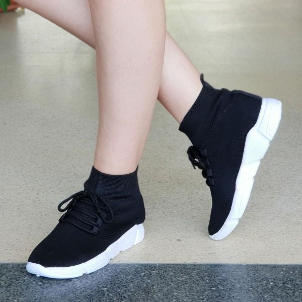 Pantofi Sport Dama WS115 Black Mei