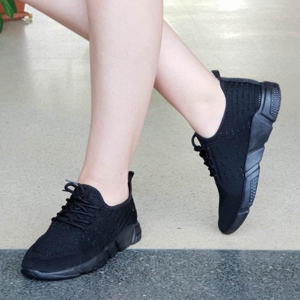 Pantofi Sport Dama WS113 Black Mei