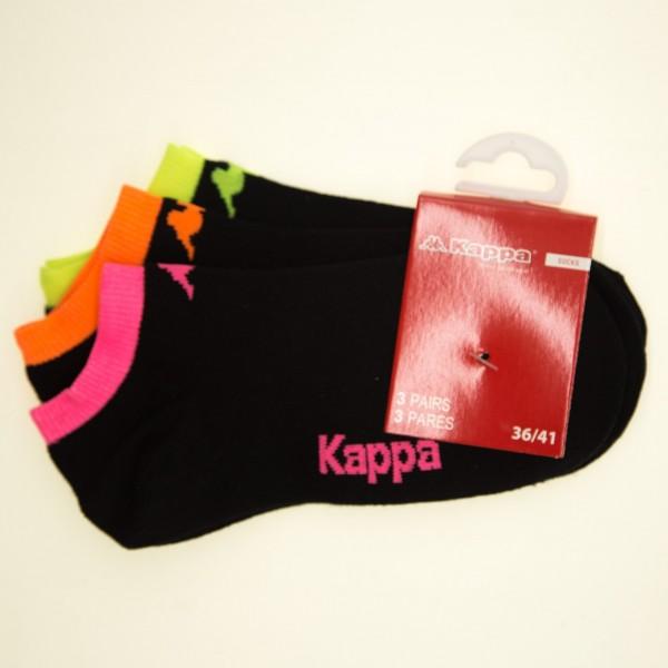 Sosete Dama x3 perechi 1-104 Black Kappa