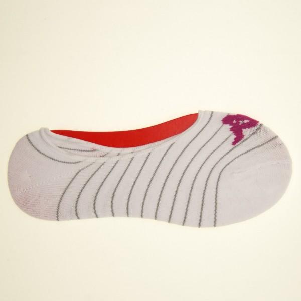 Sosete Dama x3 perechi 1-103 White-Pink-Grey Kappa