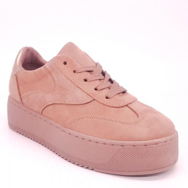 Pantofi Sport cu Platforma GB17 Pink Mei