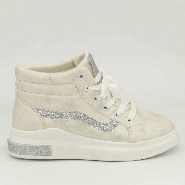 Pantofi Sport Dama ABC267 White Abc