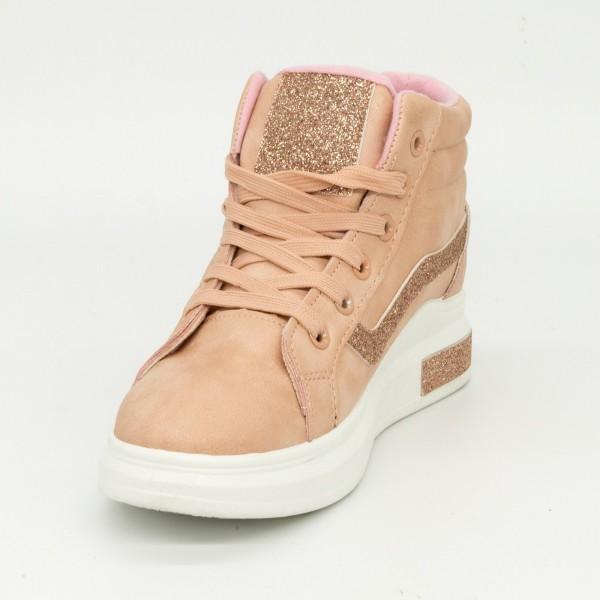 Pantofi Sport Dama ABC267 Pink Abc