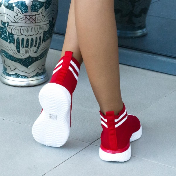 Pantofi Sport Dama YQ36 Red Mei