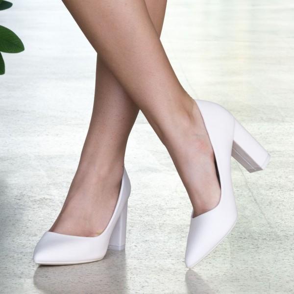 Pantofi cu Toc WT52B Beige Mei