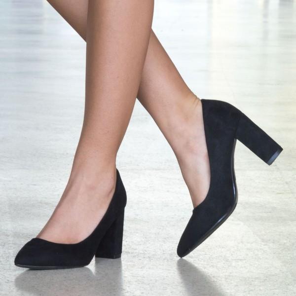Pantofi cu Toc WT52 Black Mei