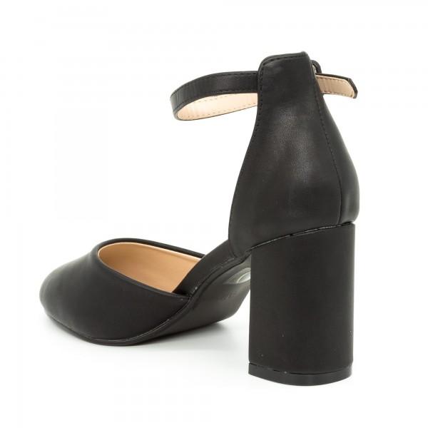 Pantofi cu Toc XD117C Black Mei