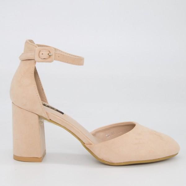 Pantofi cu Toc XD117 Pink Mei