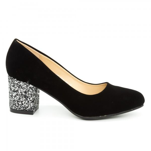 Pantofi cu Toc QZL198A Guncolor Mei