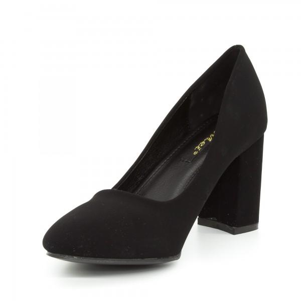 Pantofi cu Toc GE27 Black Mei