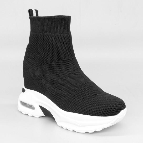Pantofi Sport cu Platforma Dama SZ185 Black Mei