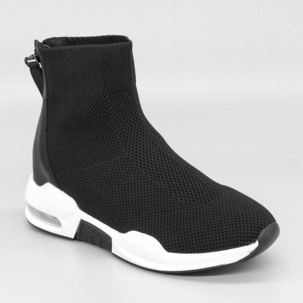 Pantofi Sport cu Platforma Dama SZ180 Black Mei