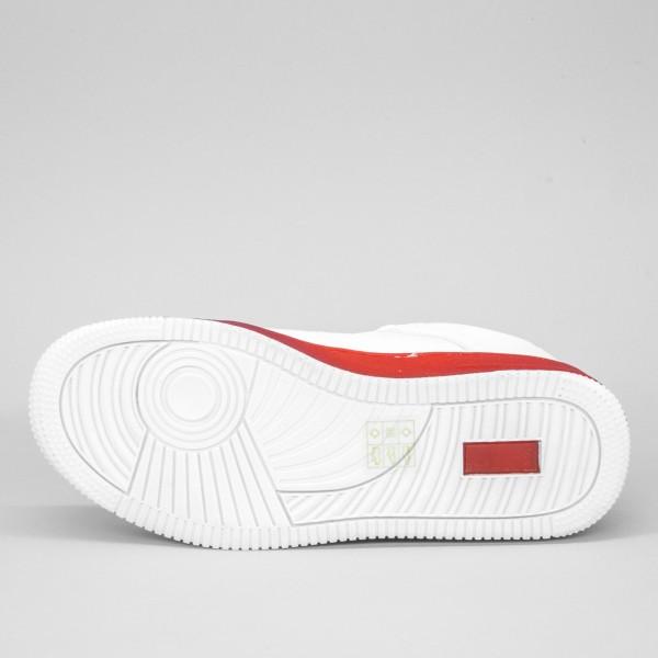 Pantofi Sport Dama YKQ31 White-Red Mei