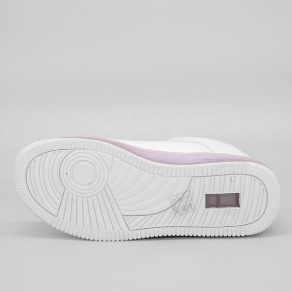 Pantofi Sport Dama YKQ31 White-Blue Mei