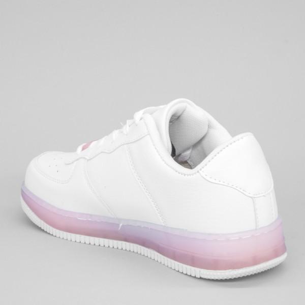 Pantofi Sport Dama YKQ31 White-Pink Mei