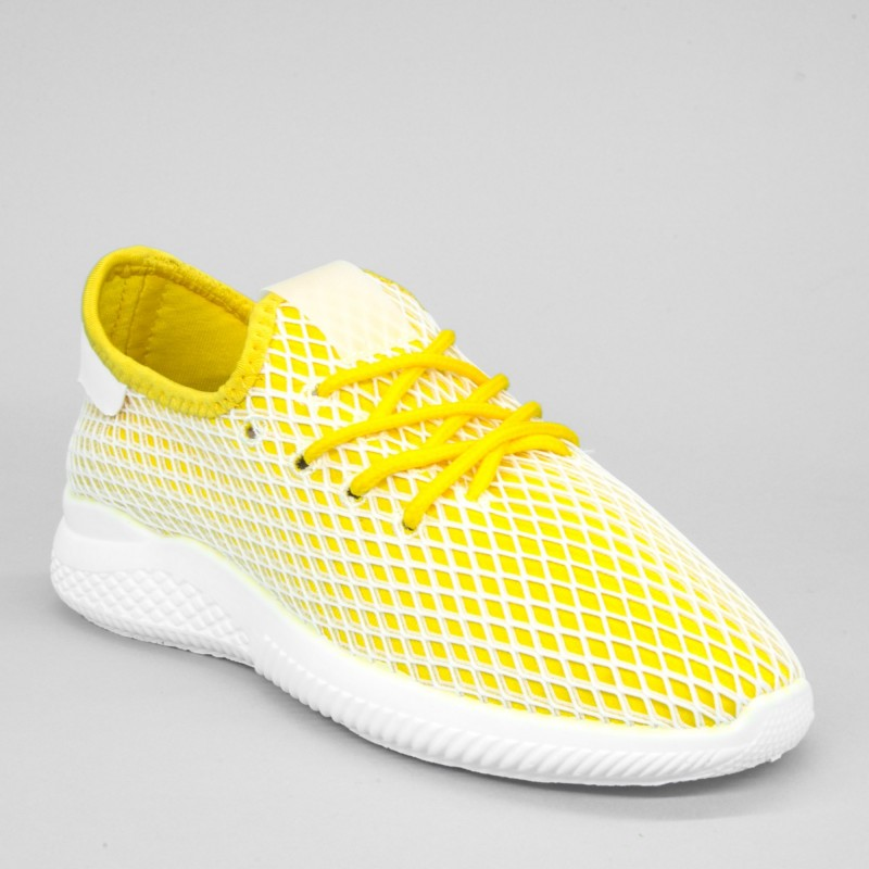 Pantofi Sport Dama YKQ29 Yellow Mei