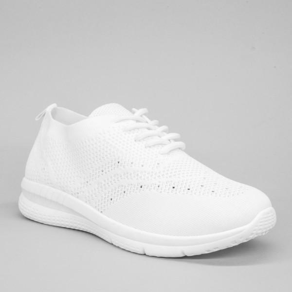 Pantofi Sport Dama YKQ28 White Mei