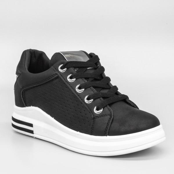 Pantofi Sport Dama YKQ20 Black Mei