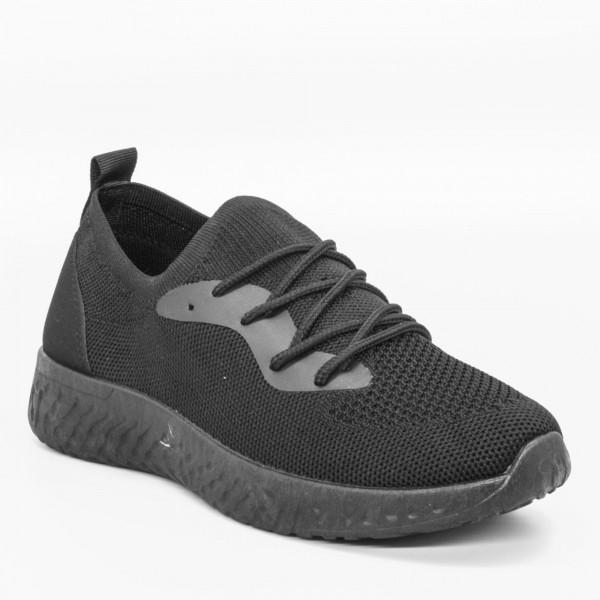 Pantofi Sport Dama YKQ17A Black Mei
