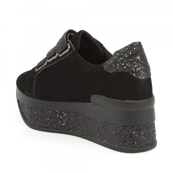 Pantofi Sport cu Platforma Dama JET2 Black Mei