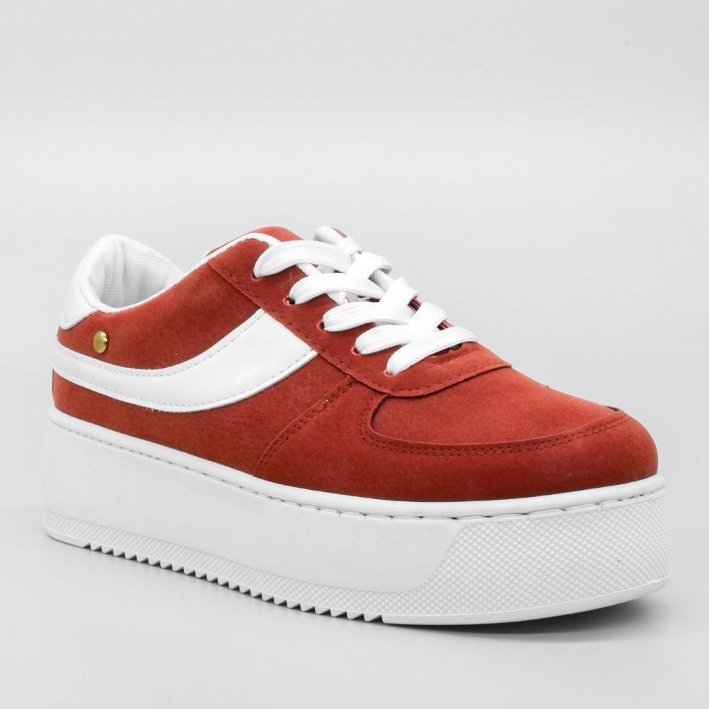 Pantofi Sport cu Platforma Dama GB25 Red Mei
