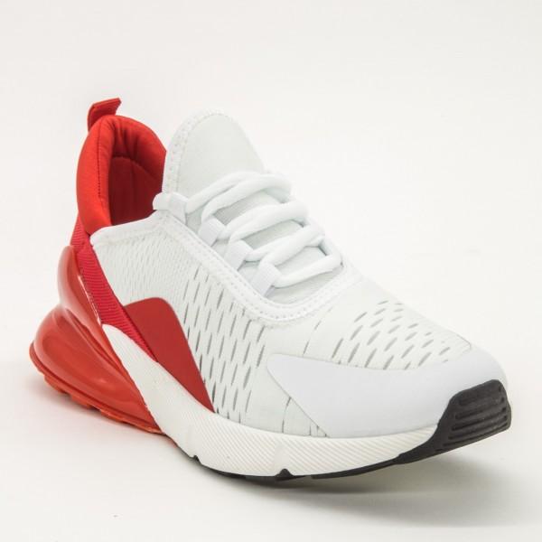 Pantofi Sport Dama X521 White-Red Se7En
