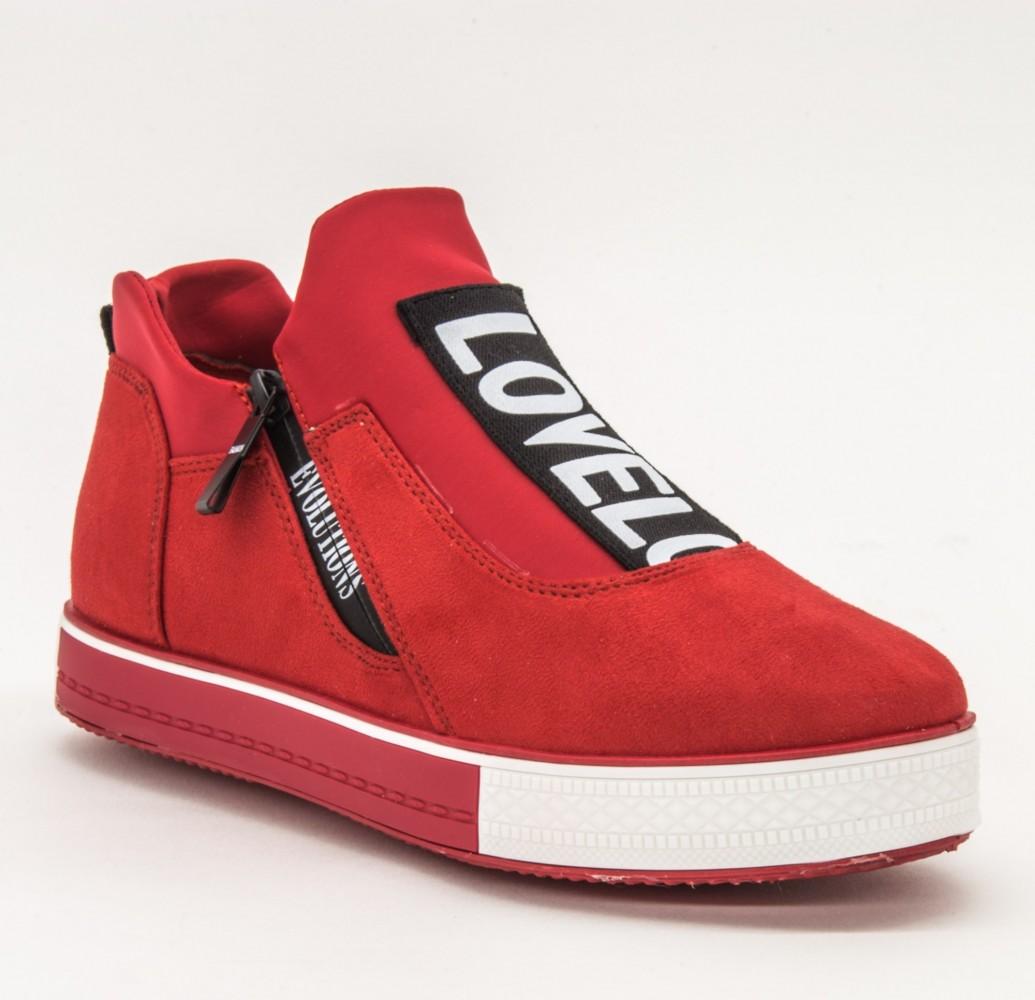 Pantofi Sport Dama X2838 Red Se7En