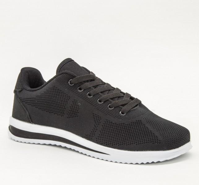 Pantofi Sport Barbati LB1871 Black Sport Fashion