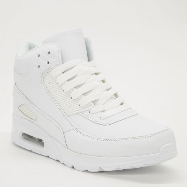 Pantofi Sport Barbati L609 White Sport Fashion