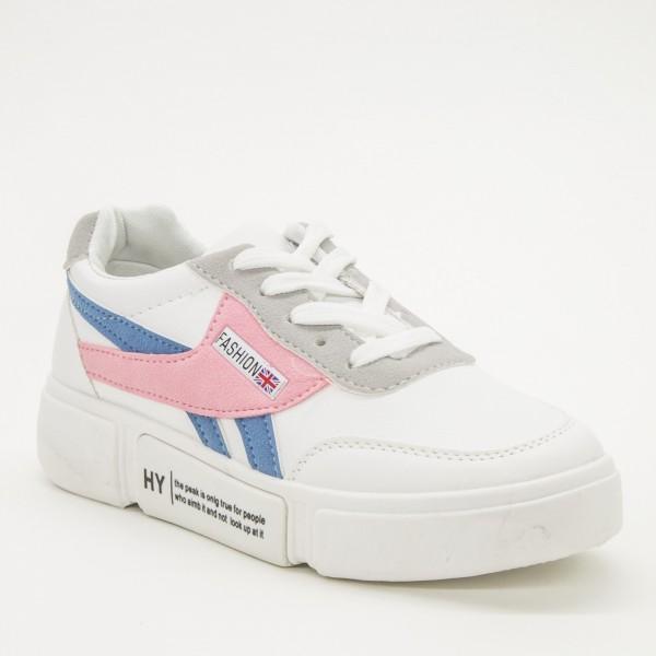 Pantofi Sport Dama H8 White Sport Fashion