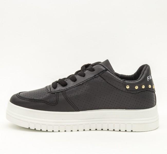 Pantofi Sport Dama D16 Black Sport Fashion