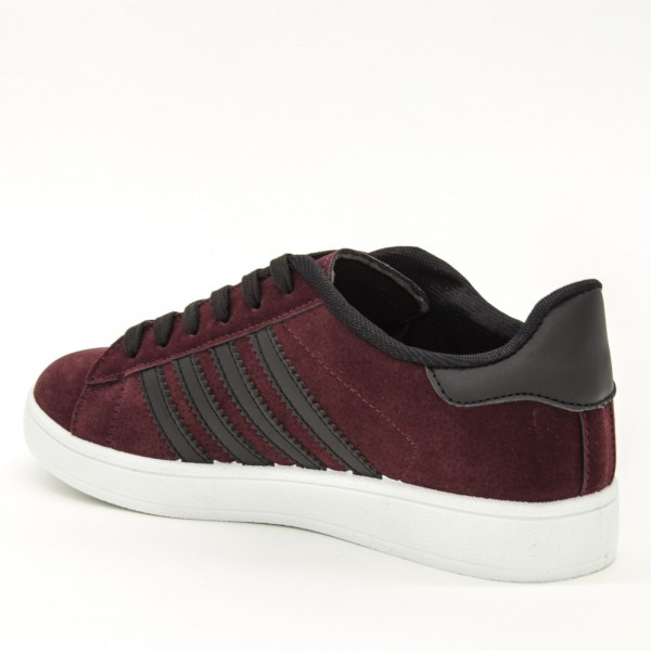 Pantofi Sport Dama A5 Winered-Black Sport Fashion
