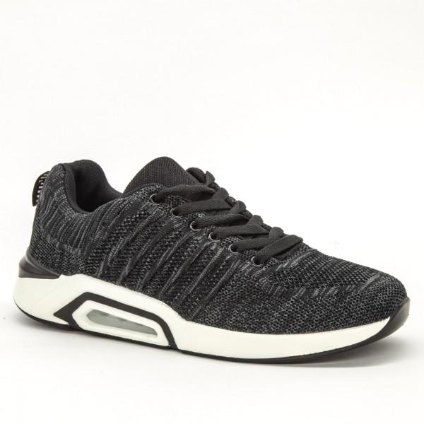 Pantofi Sport Barbati 1819 Black Sport Fashion