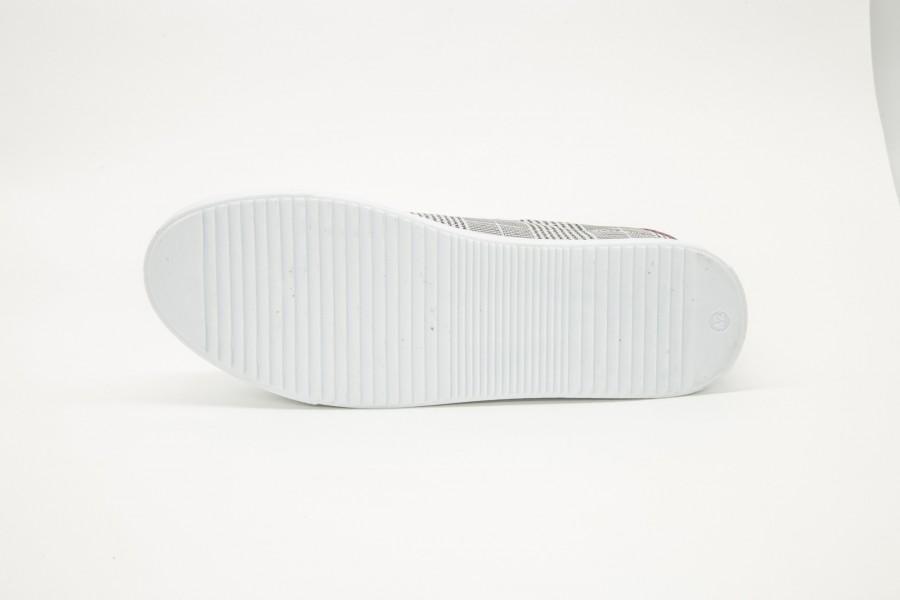 Pantofi Sport Barbati 015 White-Grey Yezz