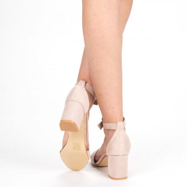 Sandale Dama cu Toc XD210 Pink Mei