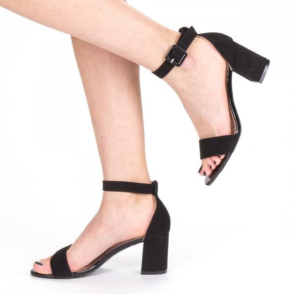Sandale Dama cu Toc XD210 Black Mei