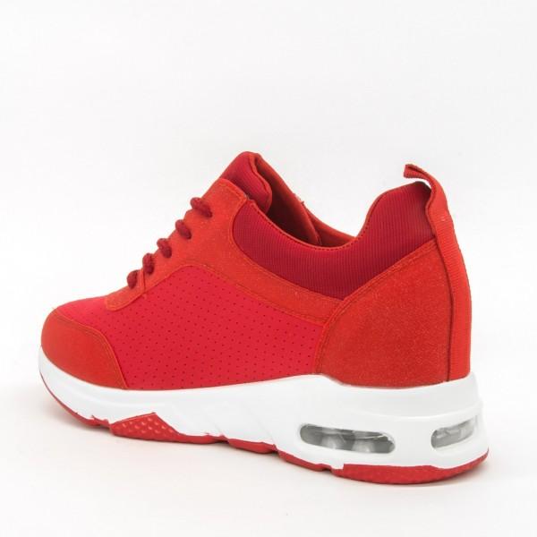 Pantofi Sport cu Platforma Dama SZ196 Red Mei