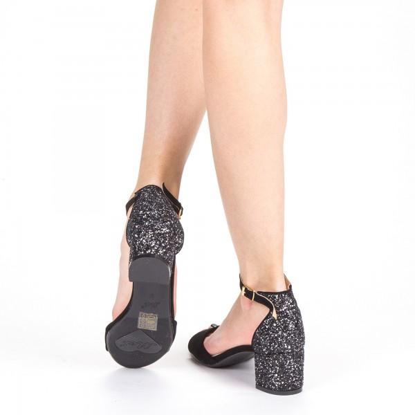 Sandale Dama cu Toc QZL218 Guncolor Mei