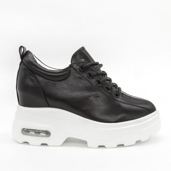 Pantofi Sport cu Platforma Dama QQ25 Black Mei