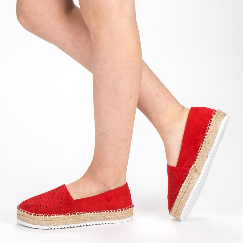 Pantofi Casual Dama FD37 Red Mei