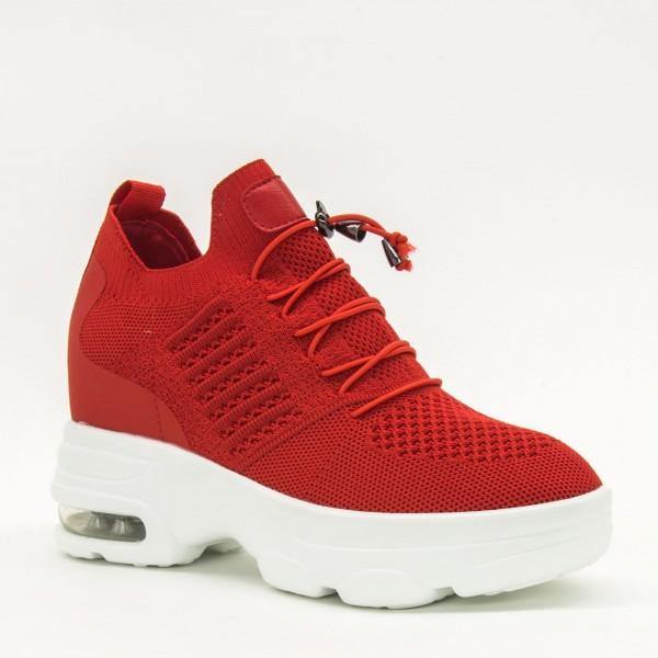 Pantofi Sport cu Platforma Dama CJL5 Red Mei