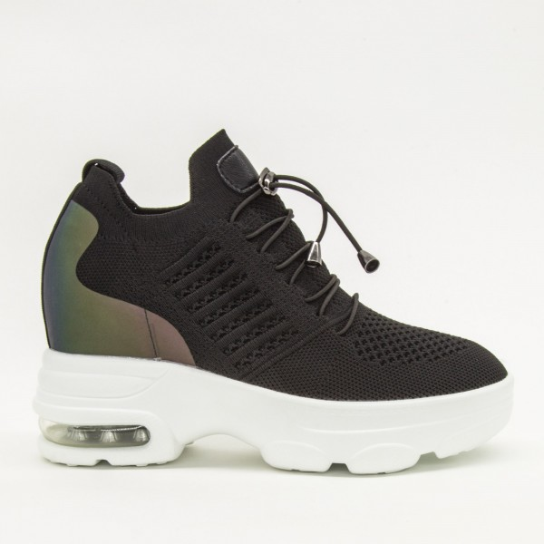 Pantofi Sport cu Platforma Dama CJL5 Black Mei