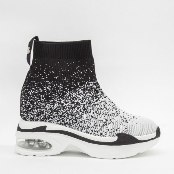 Pantofi Sport cu Platforma Dama CJL3 White Mei