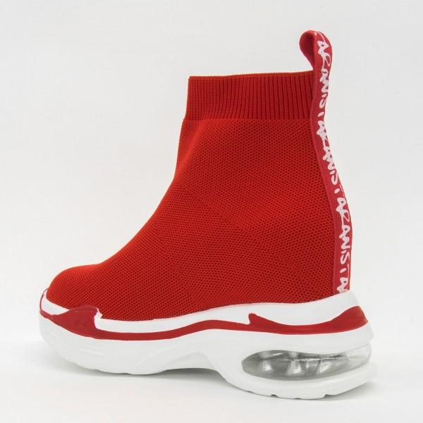 Pantofi Sport cu Platforma Dama CJL1 Red Mei