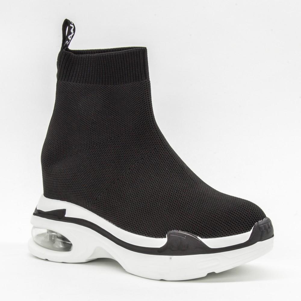Pantofi Sport cu Platforma Dama CJL1 Black Mei
