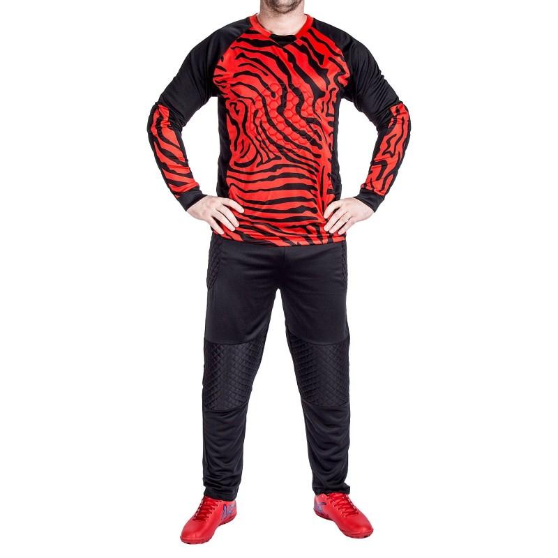 Compleu Portar 030 Rosu-Negru Sport Wear