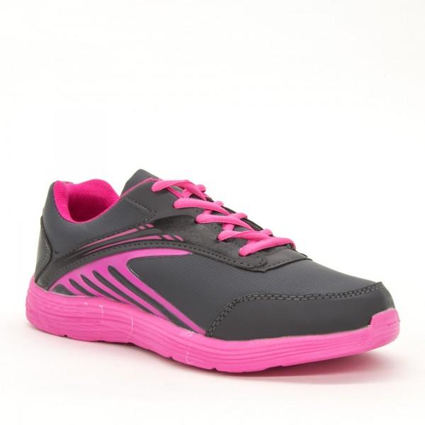 Pantofi Sport Dama B703 Grey-Fuchsia L&X