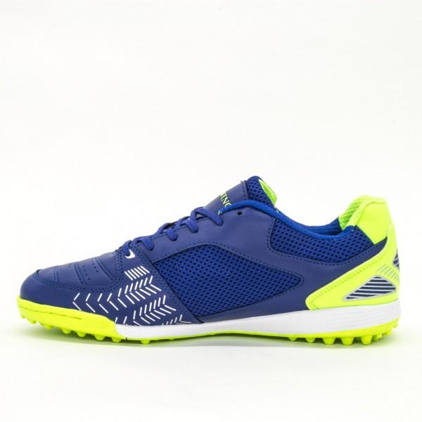 Ghete Fotbal Baieti BX8740-3 Blue-Green Sky Wing